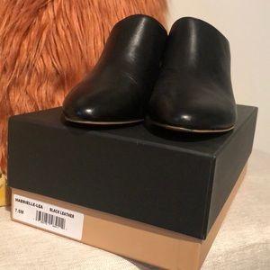 Black Halogen mules